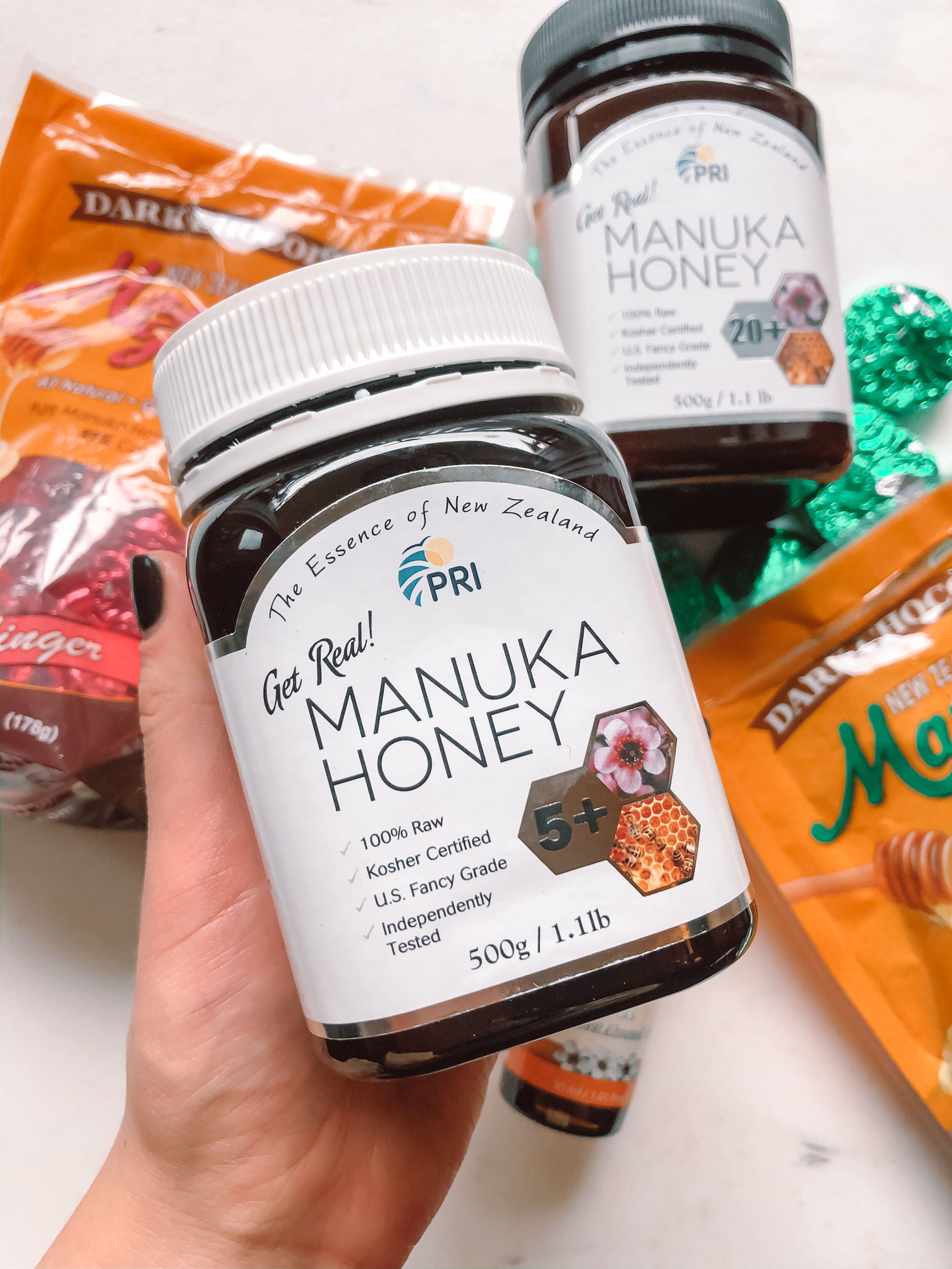 is manuka honey allowed inthe specific carbohydrate diet