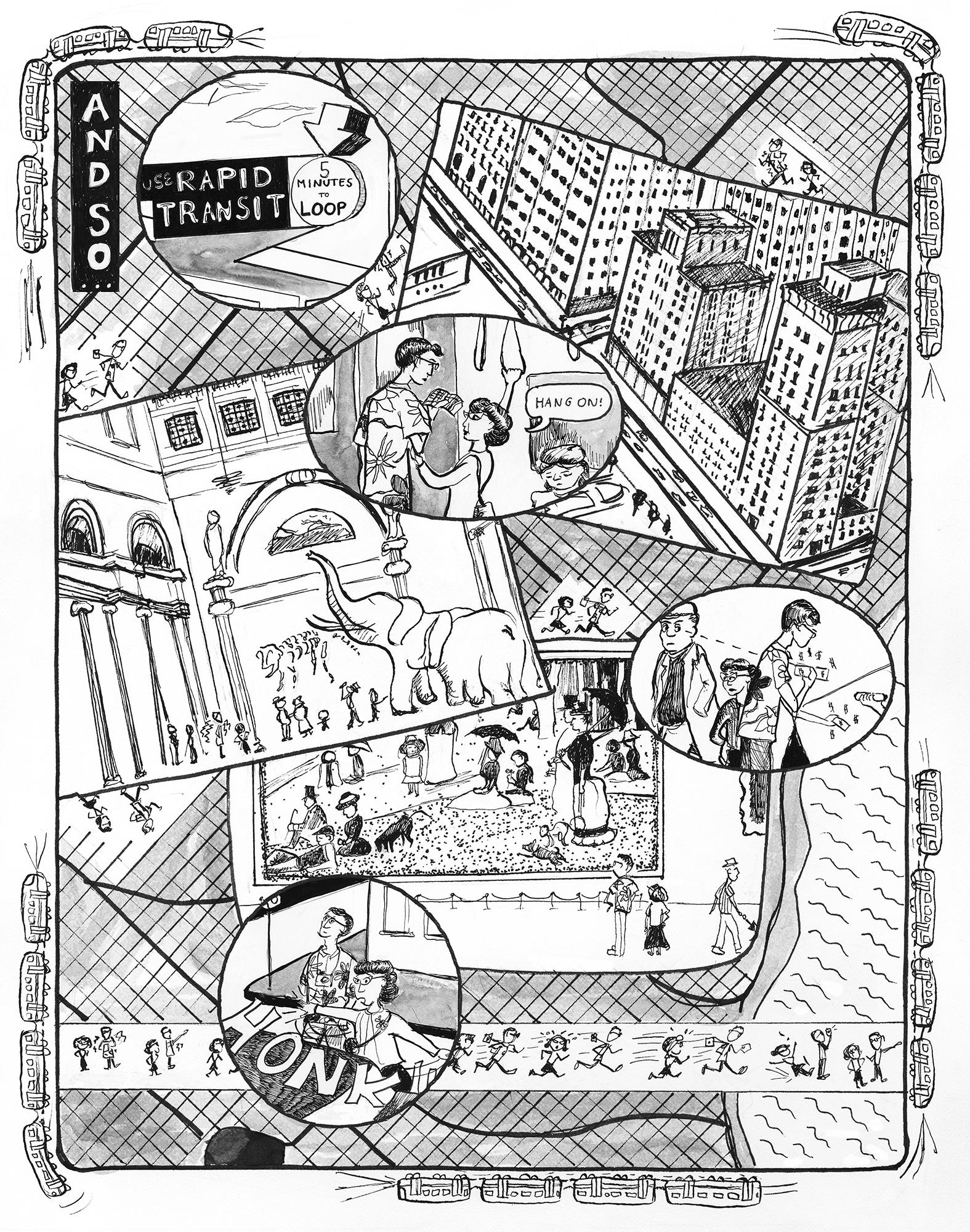 """""""Labor Date, 1958"""", p.4"""