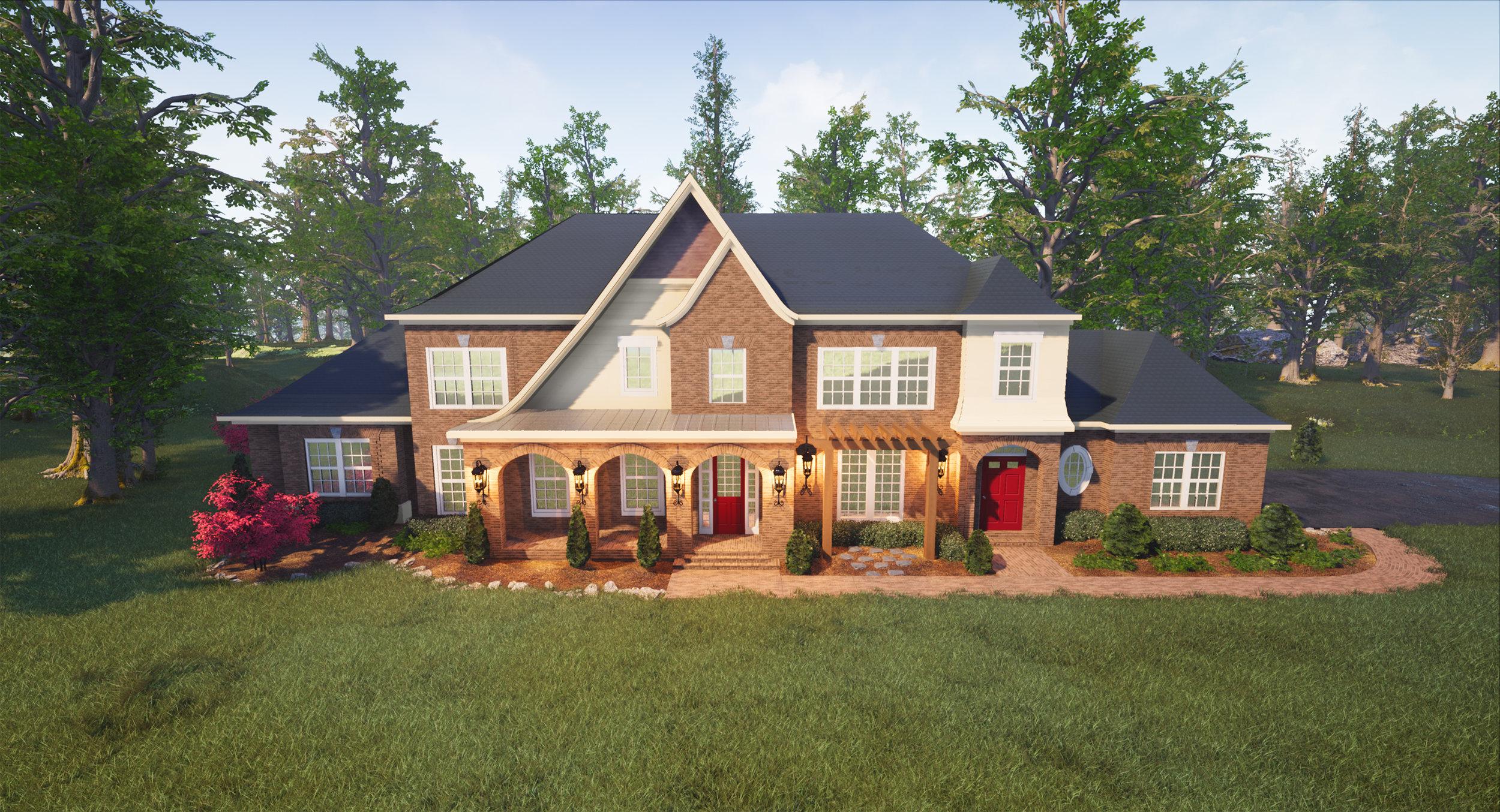 Custom Home Concept