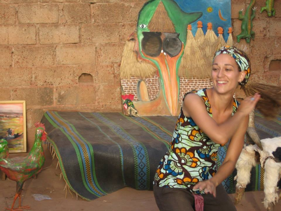 Le show qui a tout déclenché le processus de médiation culturelle dans ma vie ;) (4 juillet 2006 - Bobo Dioulasso- Burkina Faso)