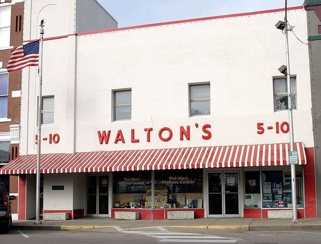 The original Walton's store