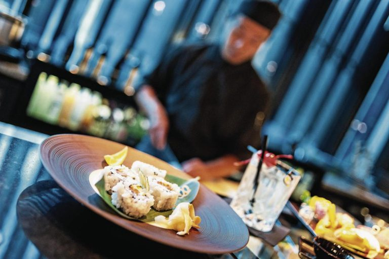 The Japanese:  The main restaurant offers an extended Asian and International menu with new dishes added regularly.