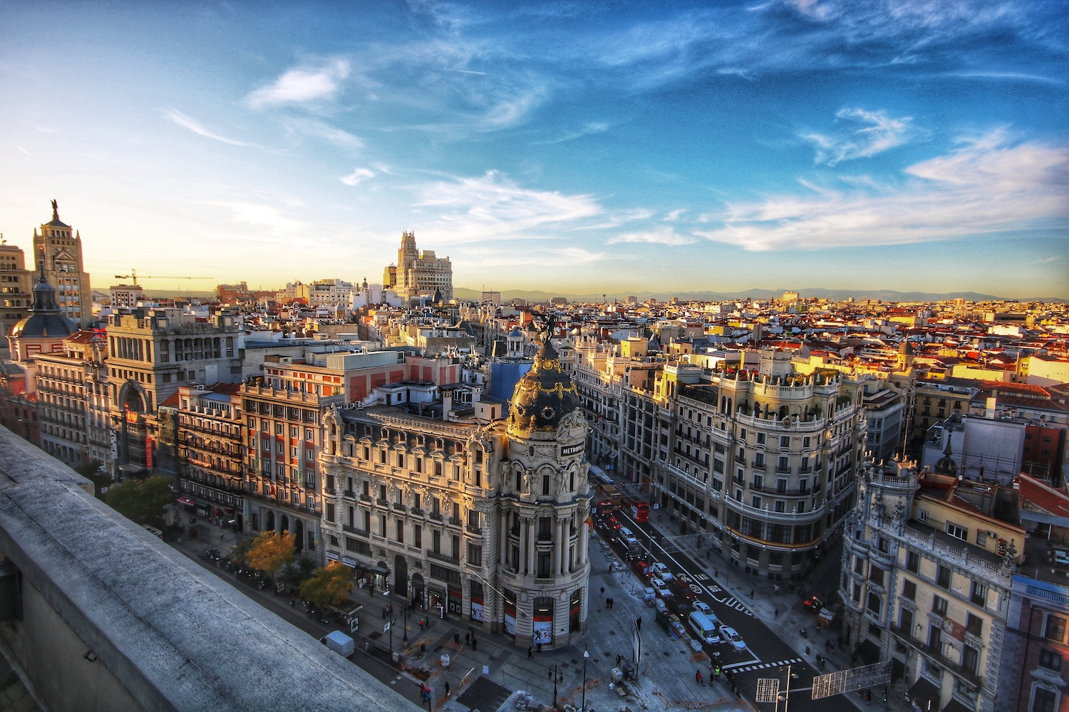 Travel Agent in Madrid -