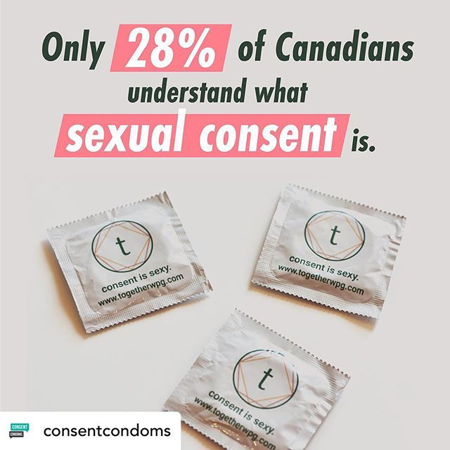 Repost from: @consentcondoms !  Thanks for the feature! 💖 We believe that an important part of reducing specialized violence is educating people about sexual consent. Check out the website for more information. Link in bio.  P.S. we ordered our beautiful condoms from @sayitwithacondom !
