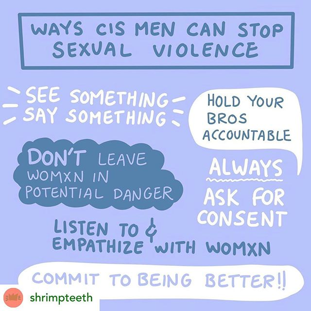 REPOST: @shrimpteeth  Let's commit to being better folks!! This applies to everyone! Let's protect and support each other, always.  #consentculture #endrapeculture #intersectionalfeminists #mensupportingwomen #support #community #winnipeg