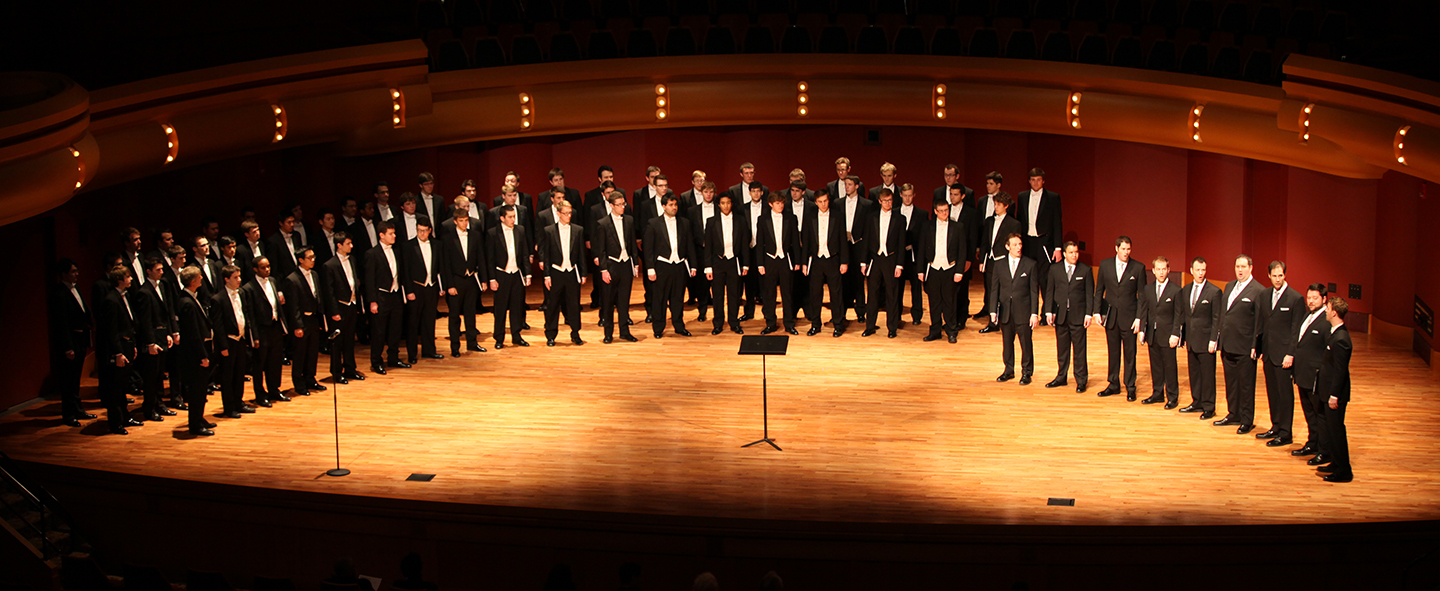 """Salve Regina"" - Notre Dame Men's Glee Club and Cantus"