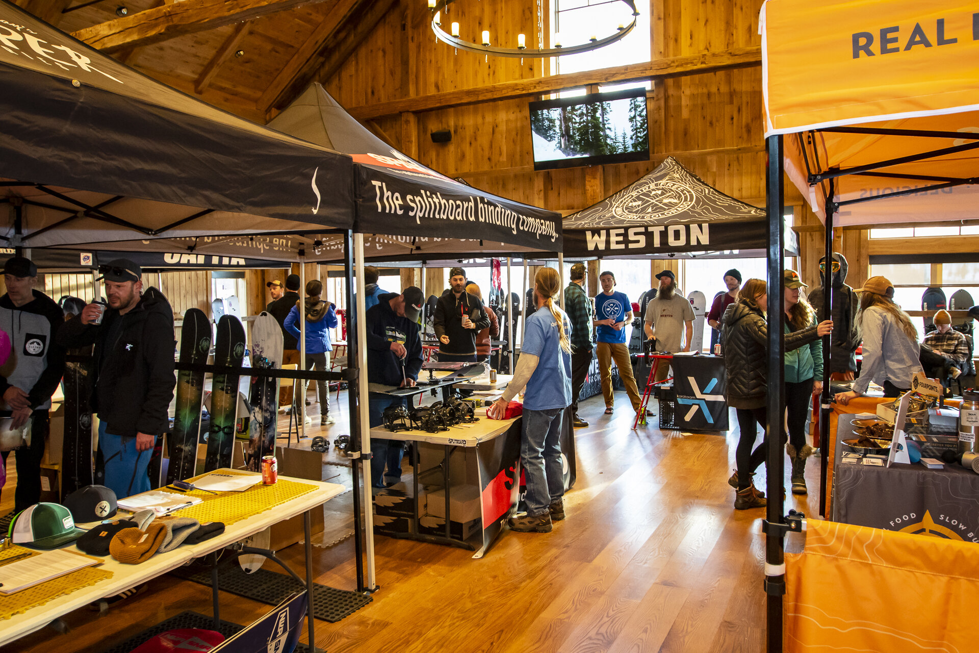 Gear Demos - Splitboarding isn't cheap. Take the opportunity to test product from the industry's leading manufacturers.