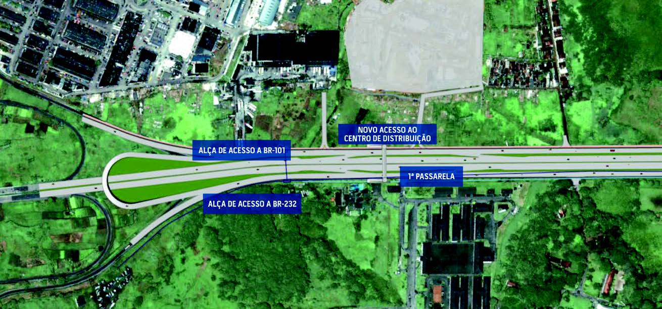 BR-232 third-lane project