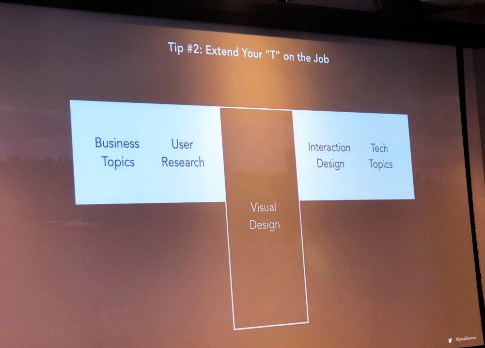 """""""T"""" shaped designers have breadth, in addition to depth, helping them bridge the gap between design and business."""