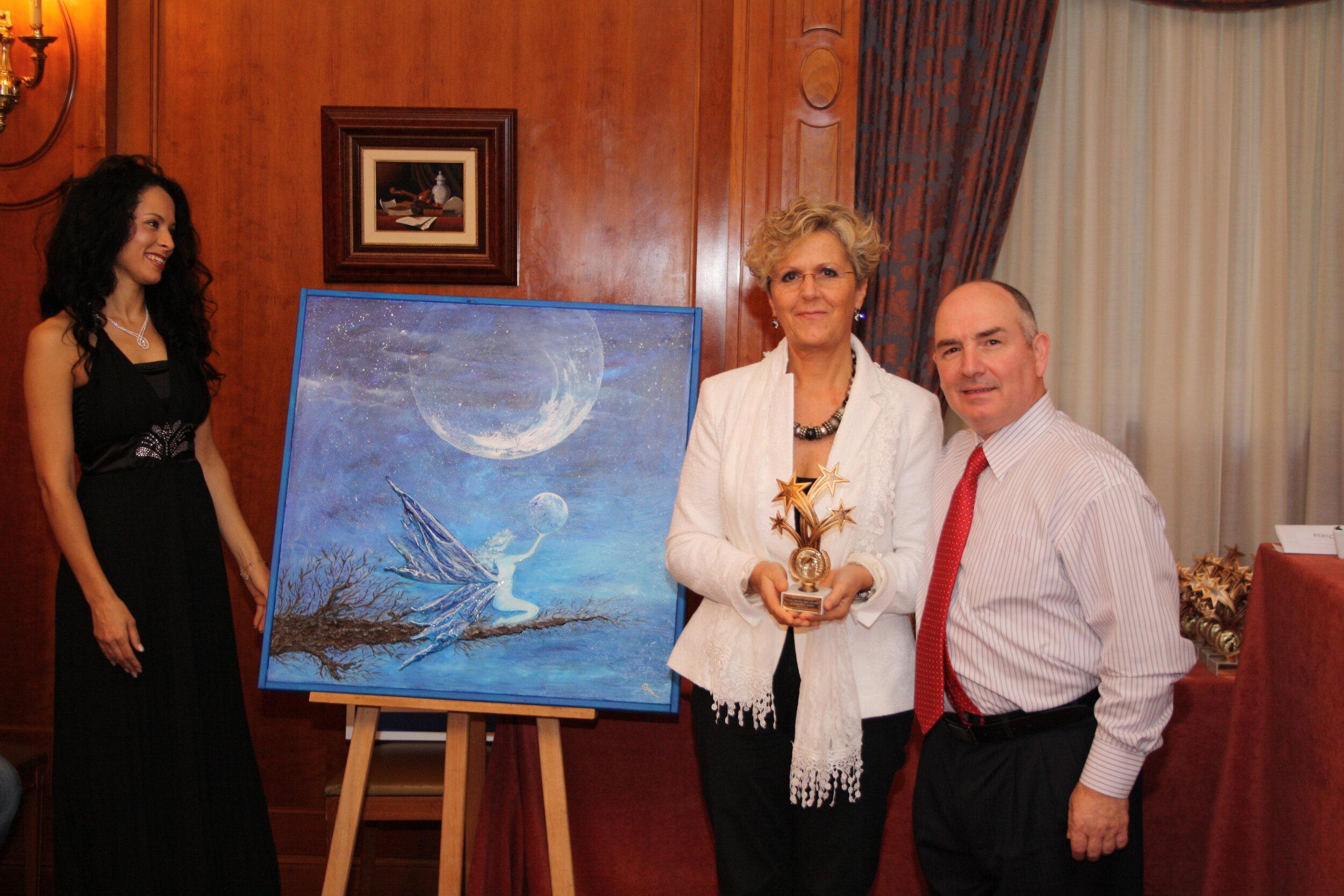 premiazione Nobel dell'Arte a Montecarlo anno 2012