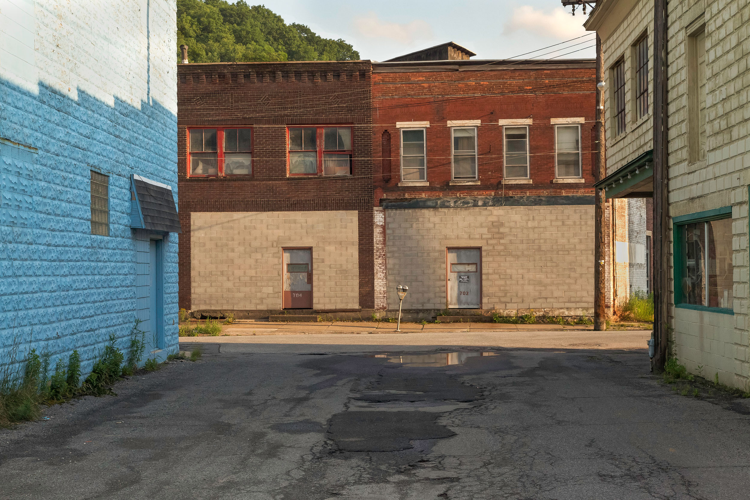 John Wyatt, Railroad St., Johnstown, PA, Johnstown, PA, 2013 29.5 x 23.38 inches