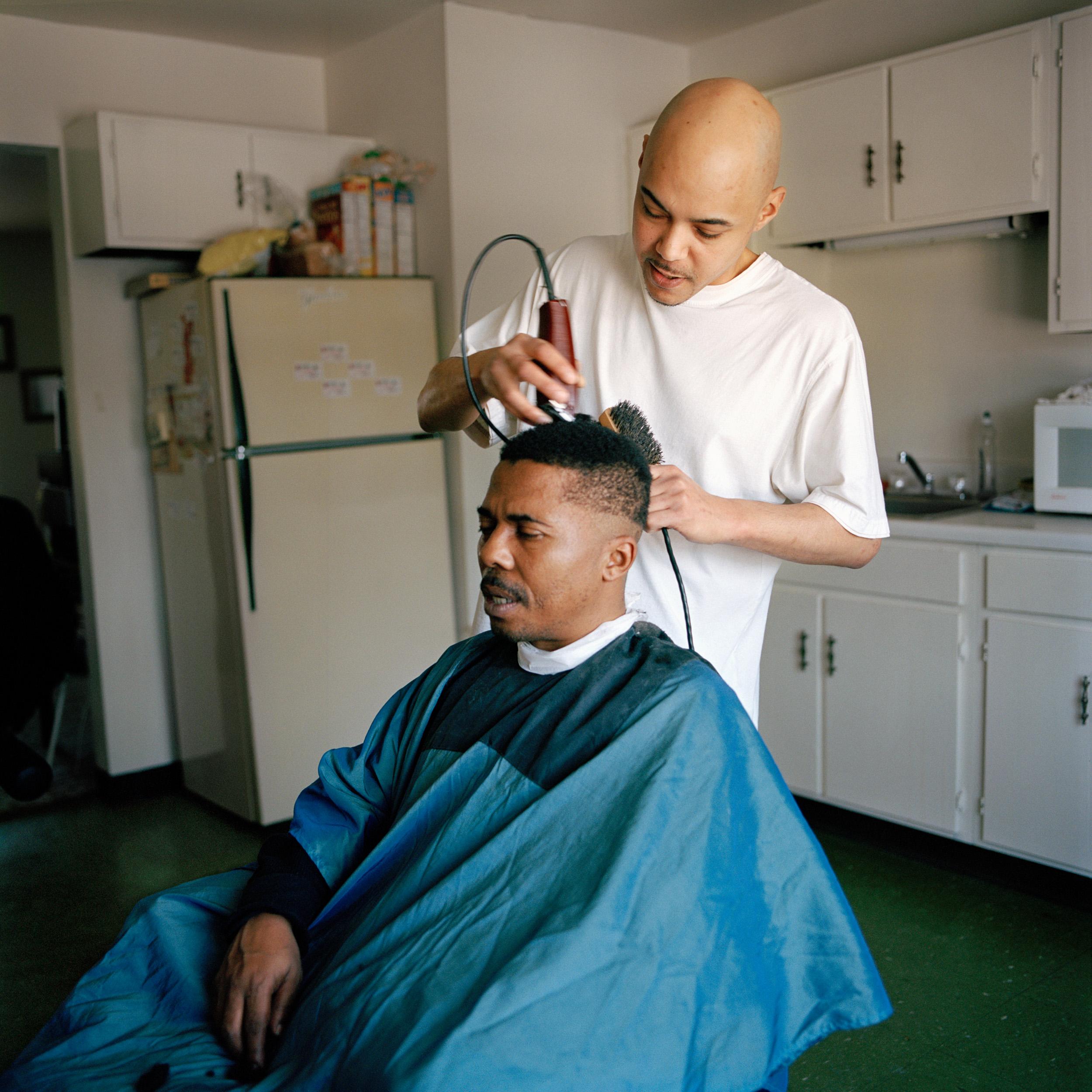 Kitchen Haircut, Amsterdam, NY, 2011