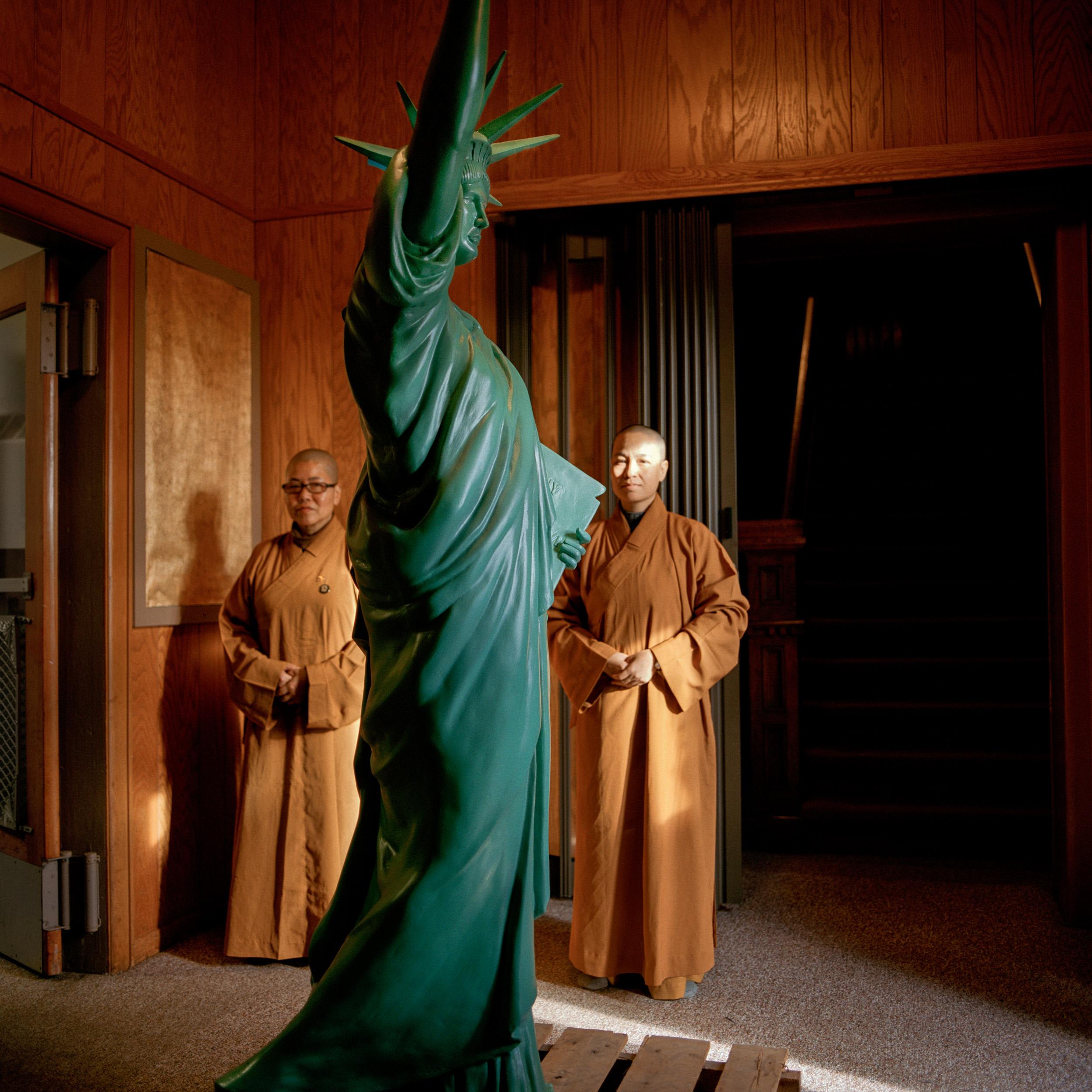 Five Buddhas Temple, Amsterdam, NY, 2010