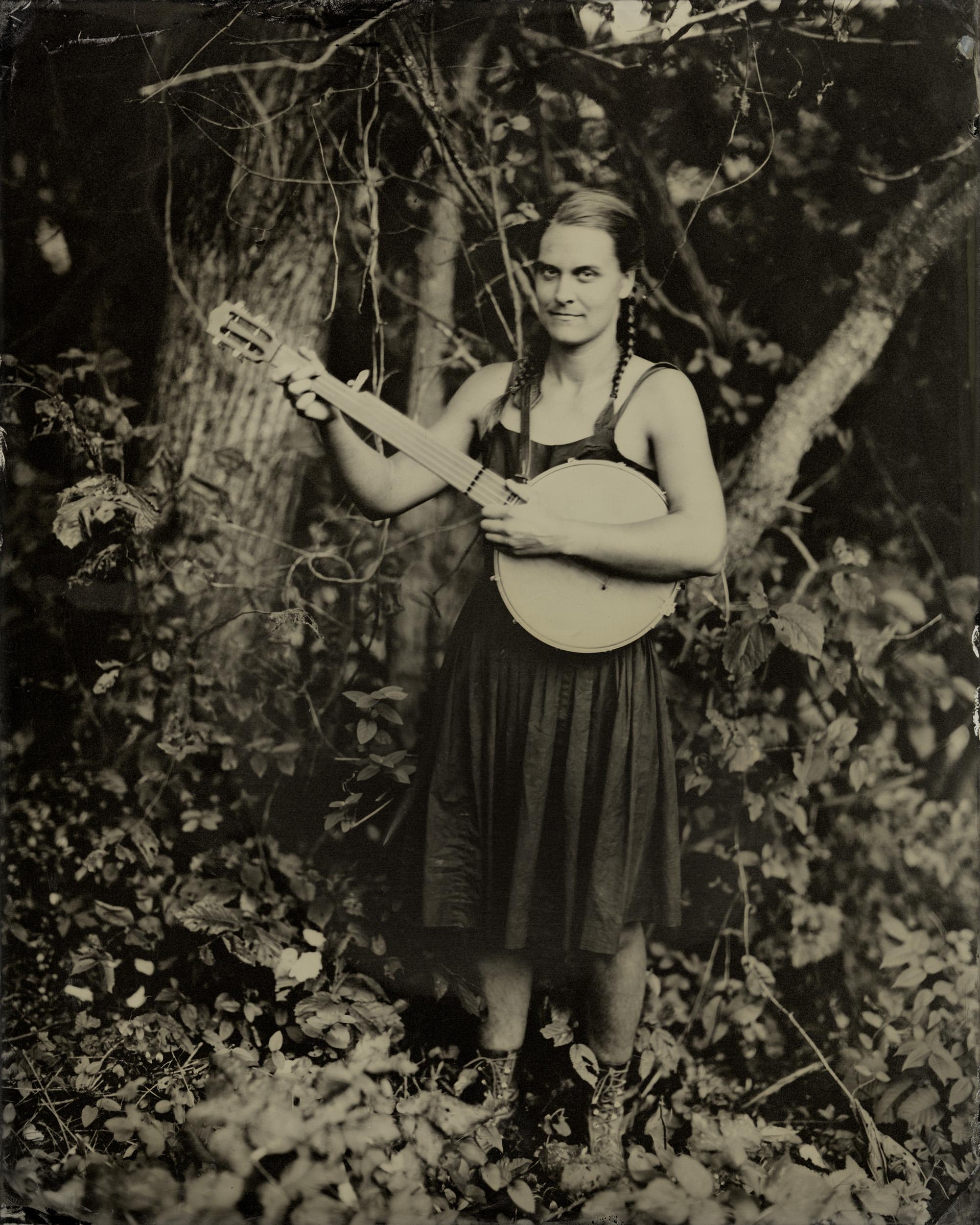 Hannah Johnson, Keezletown, Virginia, 2012, Tintype