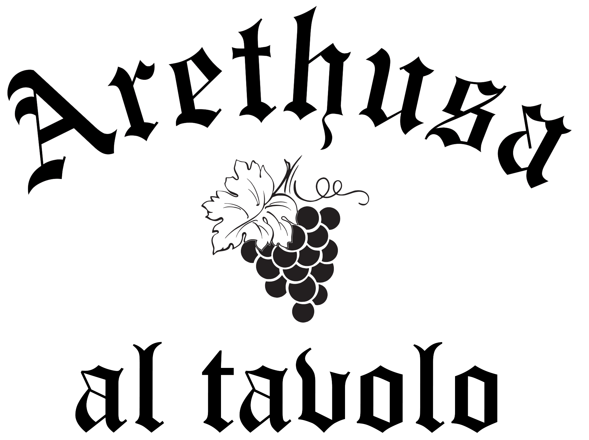 Arethusa al tavolo logo