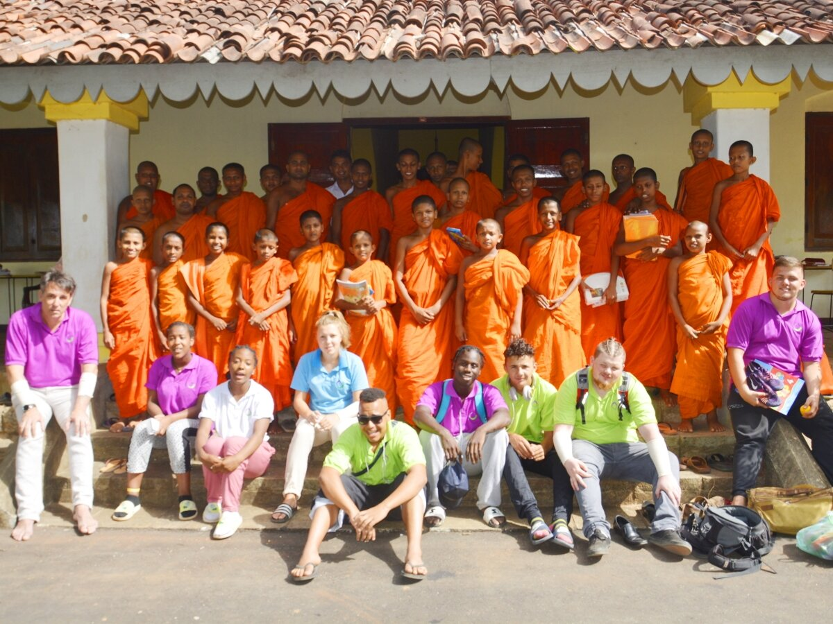 Youth and School Group Volunteering in Sri Lanka