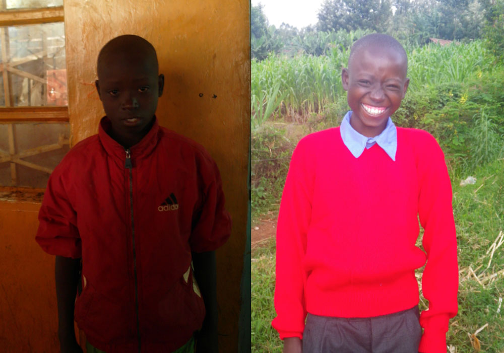 Kamwana is 12 years old and lived homeless on the streets foro NINE years.