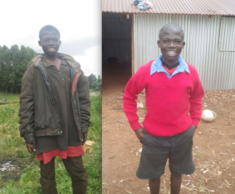 Duke was one of the drunker street boys in Kisii and has been making exceptional progress as the glue continues to leave his brain. Easily one of the happiest kids I have ever met, my mood instantly gets lifted when we are together.
