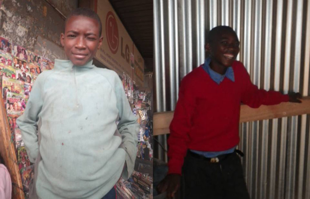 Joseph was abused heavily by his parents and during his two and a half years in the streets, lived the life of a 35 year old man. He worked, had a phone,had a girlfriend, and even bought a bicycle. He is embracing his second chance at childhood at the young age of thirteen.