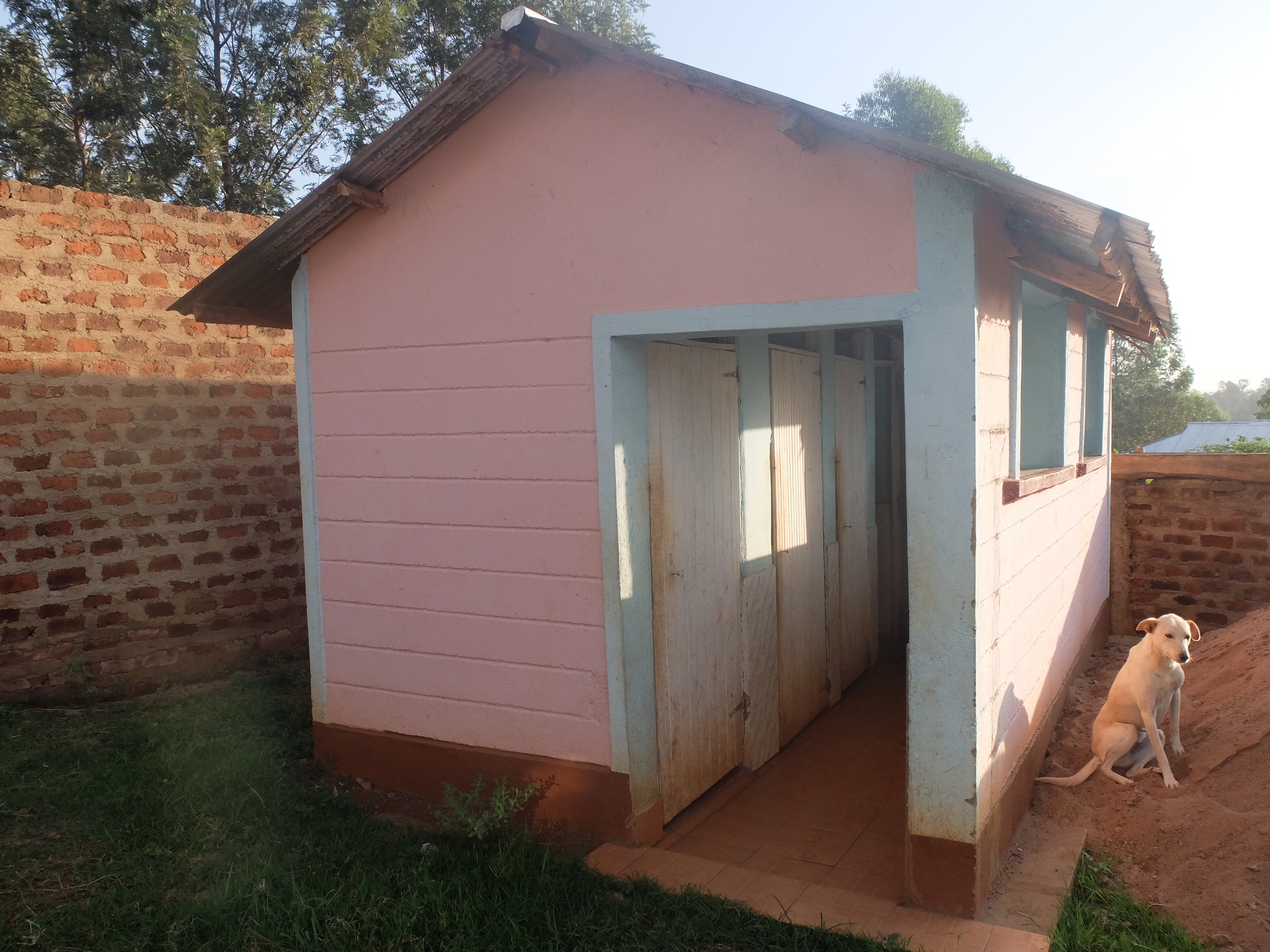 Girls' Latrines and Shower