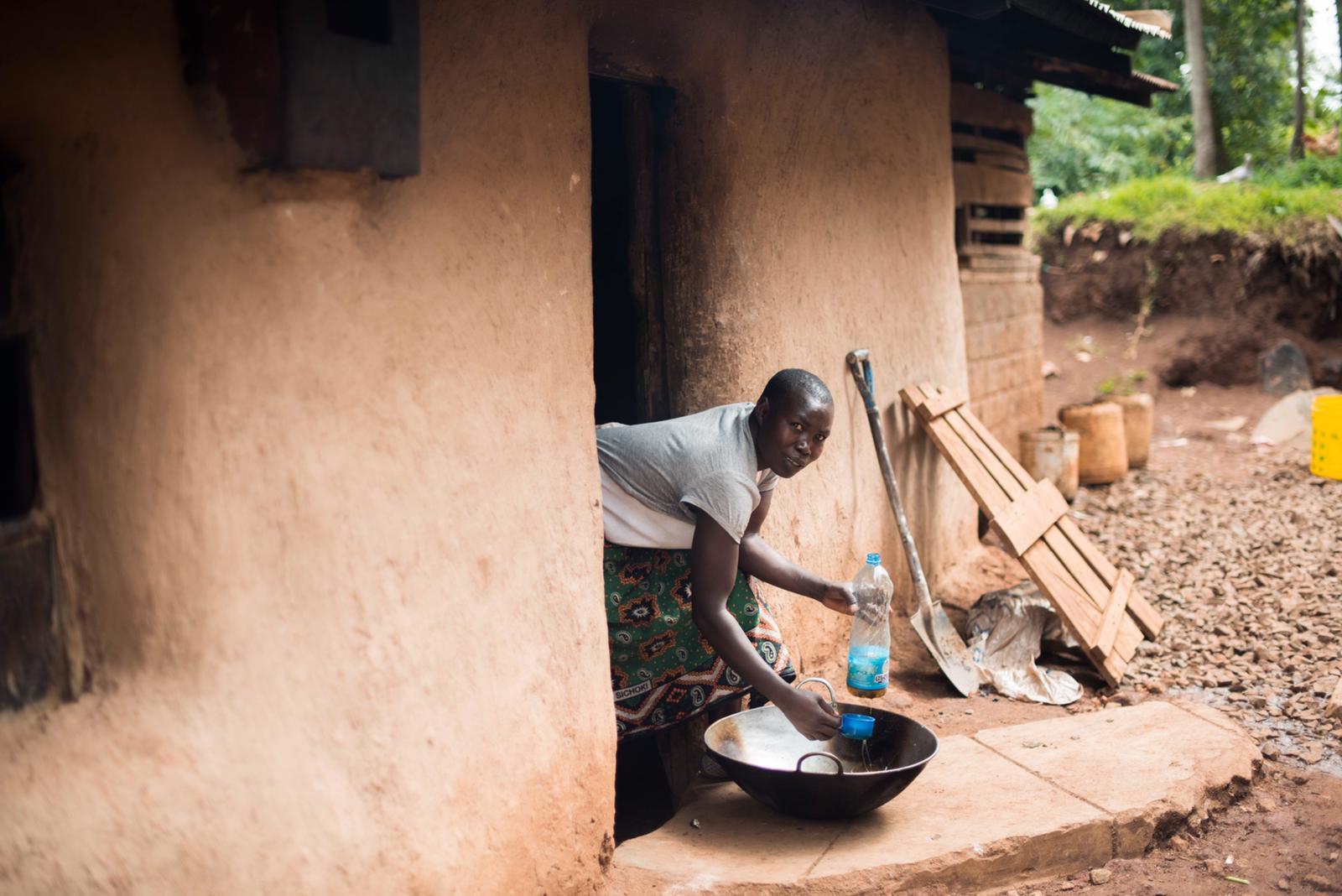 Nyoyoma Paris Achieng - Kitchen Staff