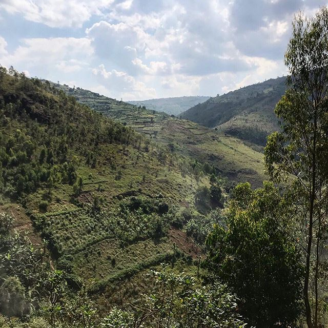 "Rwanda is known as ""the land of a thousand hills."" It feels like we climbed close to that today on #thewalkafrica"