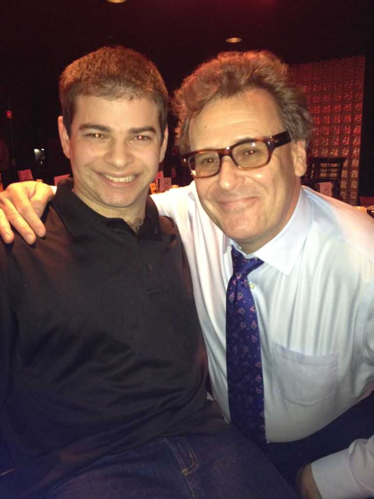 "Hangin with ""Smartest Man in the World"" podcast host Greg Proops at the D.C. Improv"