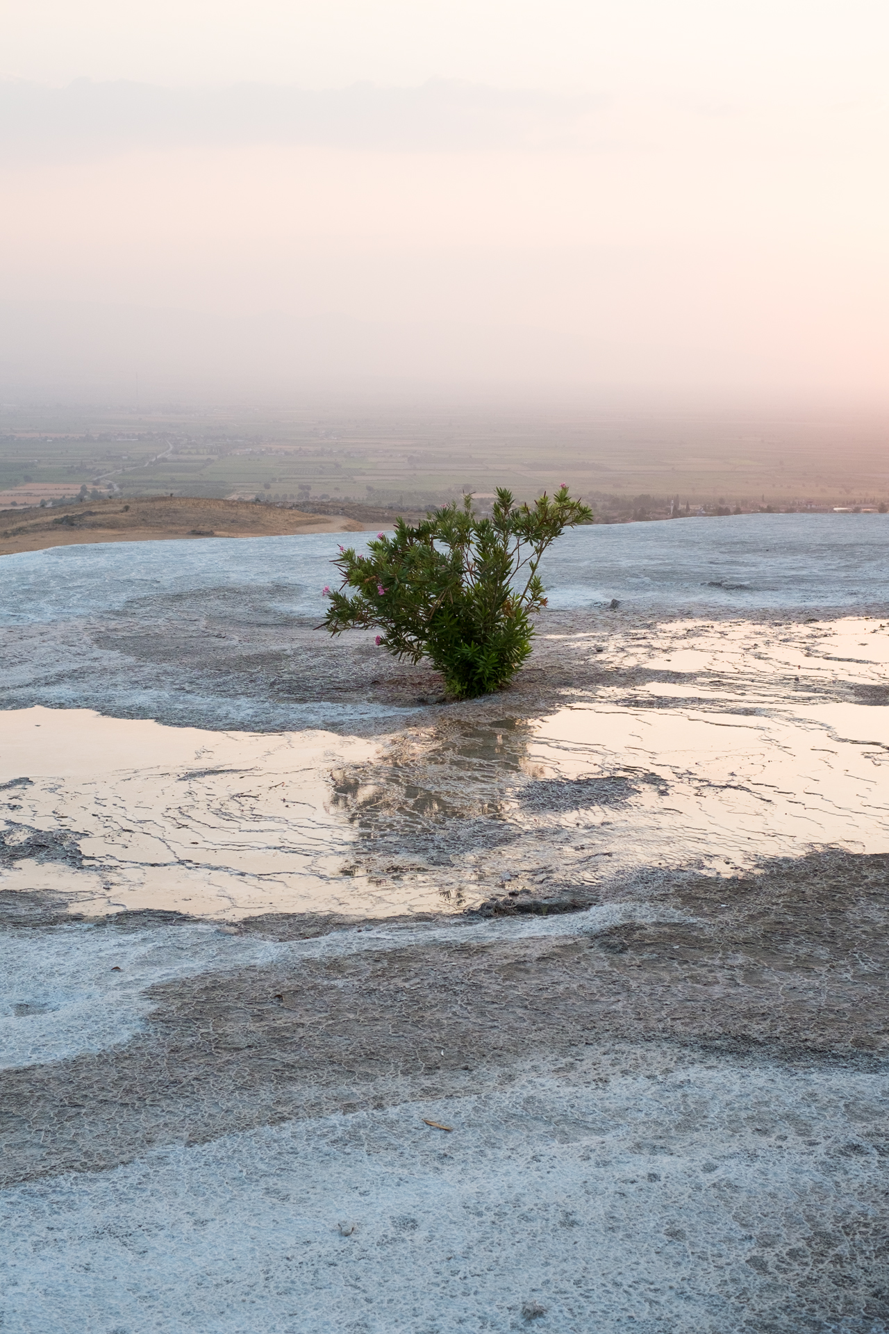 Imaginary Day : Pamukkale 049   pigment print, framed  60 x 40cm, 2013