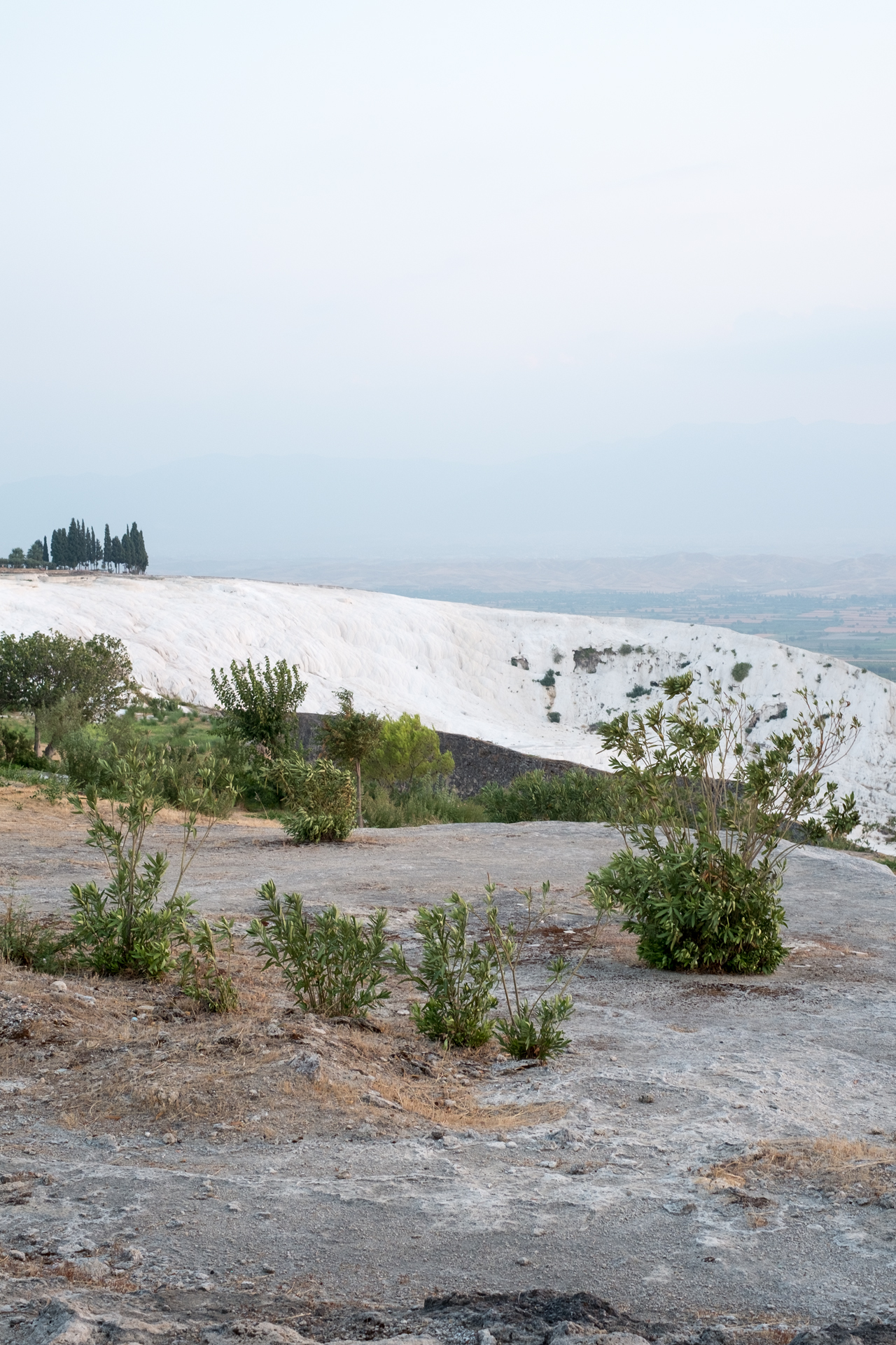 Imaginary Day : Pamukkale 075   pigment print, framed  60 x 40cm, 2013