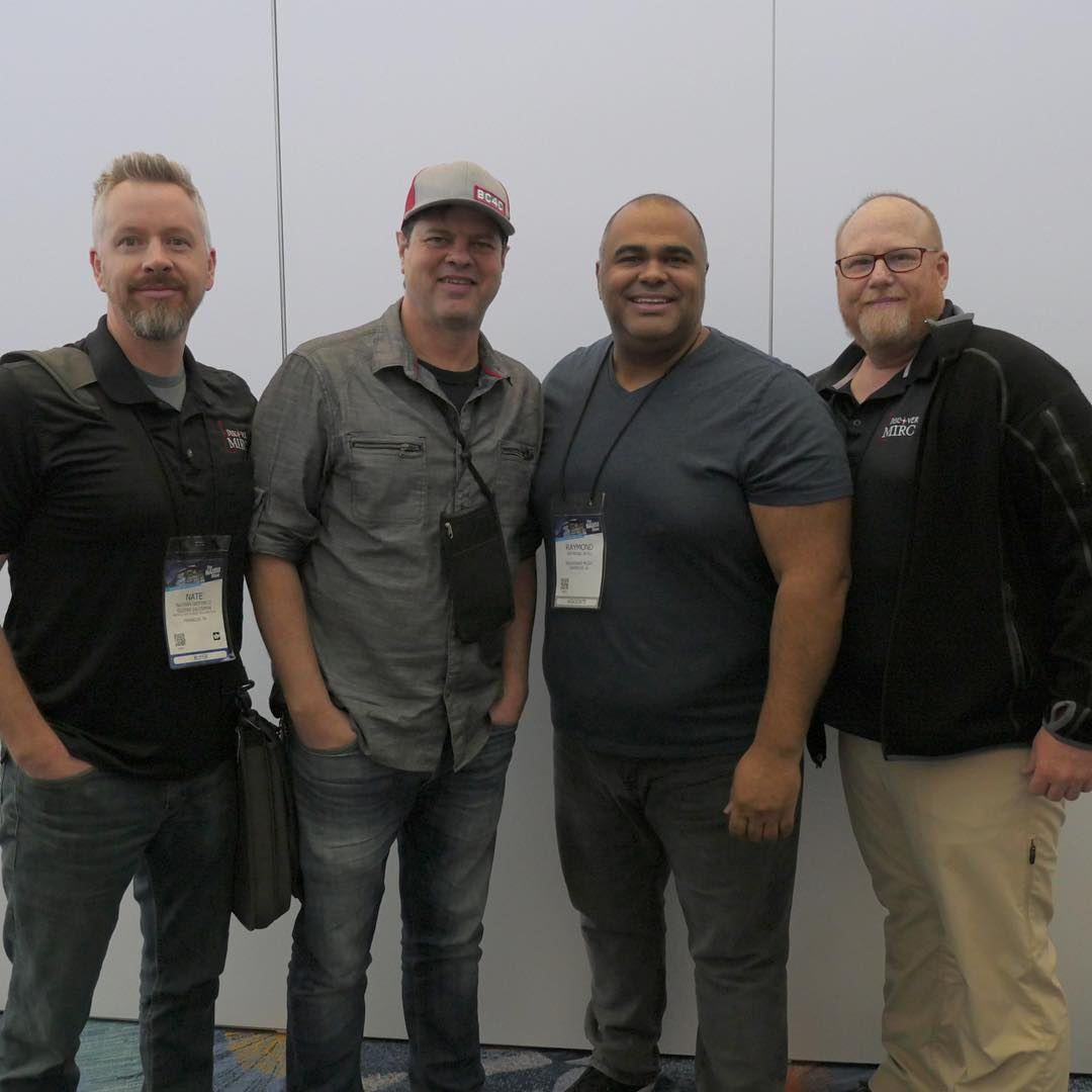 Nathan, Dave, Raymond, & Richard at the NAMM Show 2019