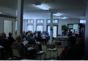 The BRWA's AGM in June in their new office space