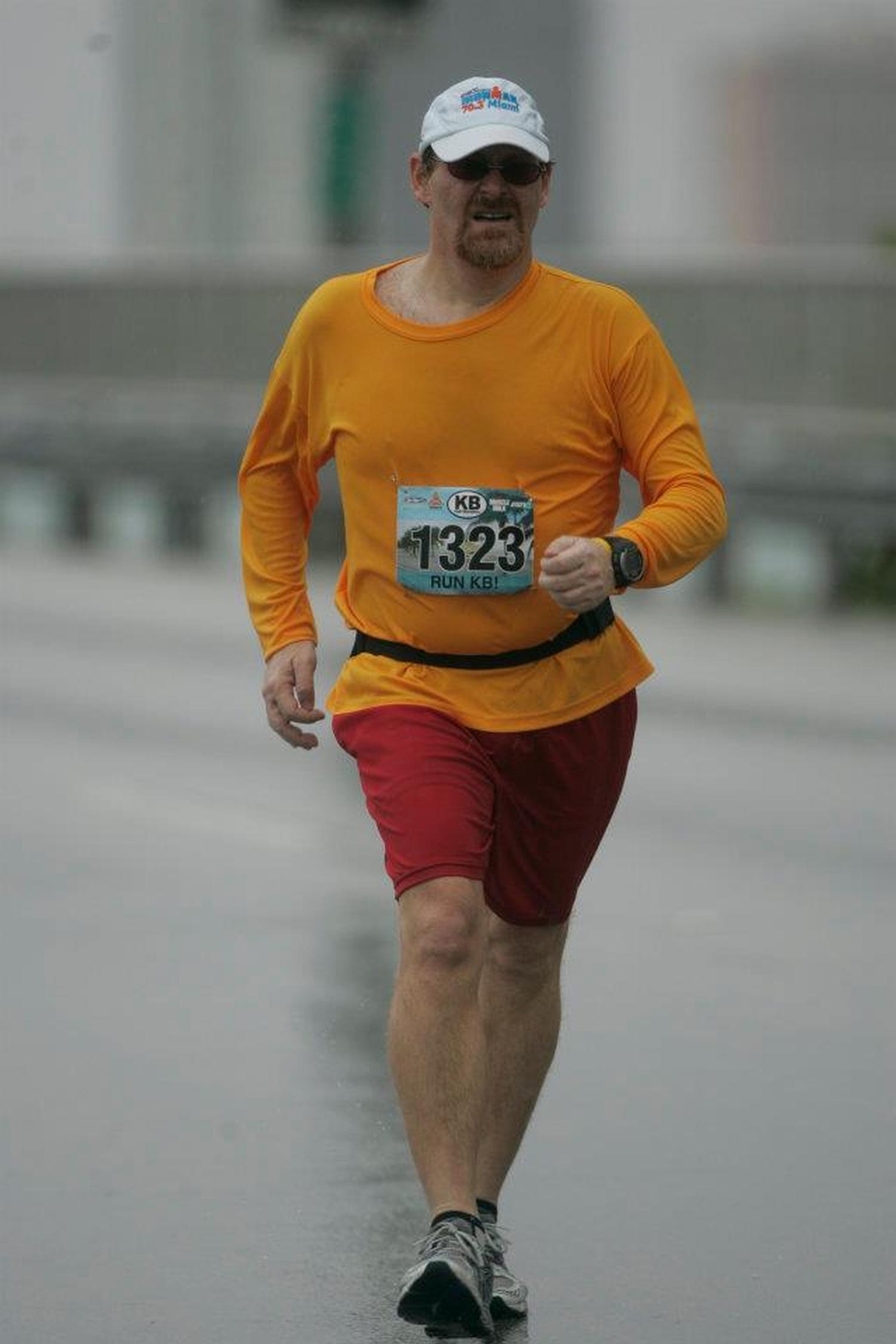 1st racewalking competition, Key Biscayne Half 2012