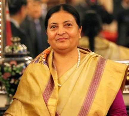 Bidhya Devi Bhandari, President of Nepal