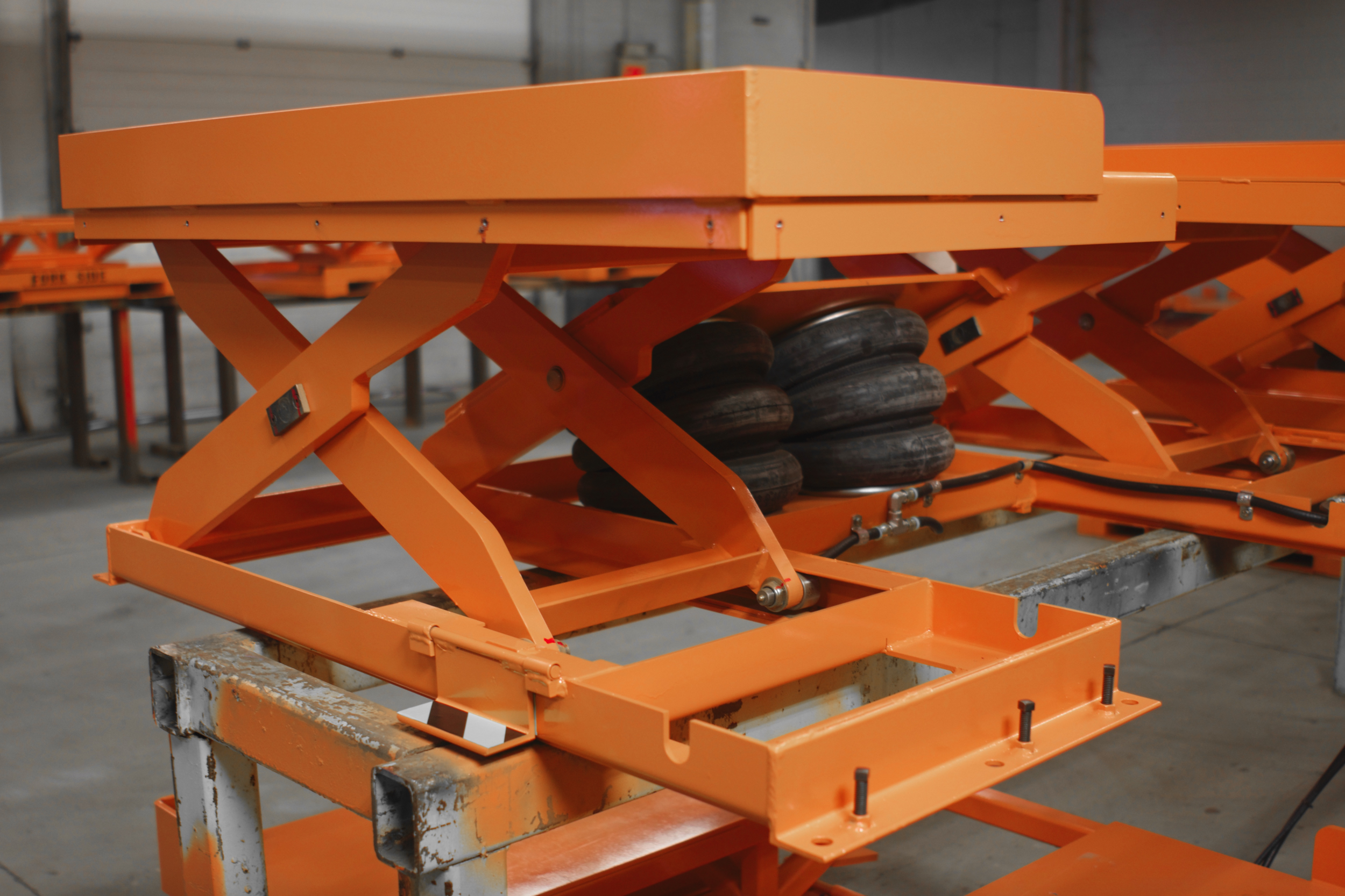 Acculift Configured for Operator Walk-In