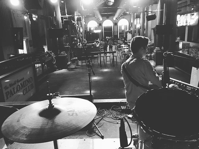 Soundcheck at the world famous Palomino Club. Haven't played here in a while..... ———— We've spent the last few months working on new recordings. Produced and engineered by the team @moonrisemusicclub and mixed by a talented fella' named Dave Schiffman. We're excited to show you what we've made... soon... . . . #worldfamouspalominoclub #newwales #makingstuff #winnipeg