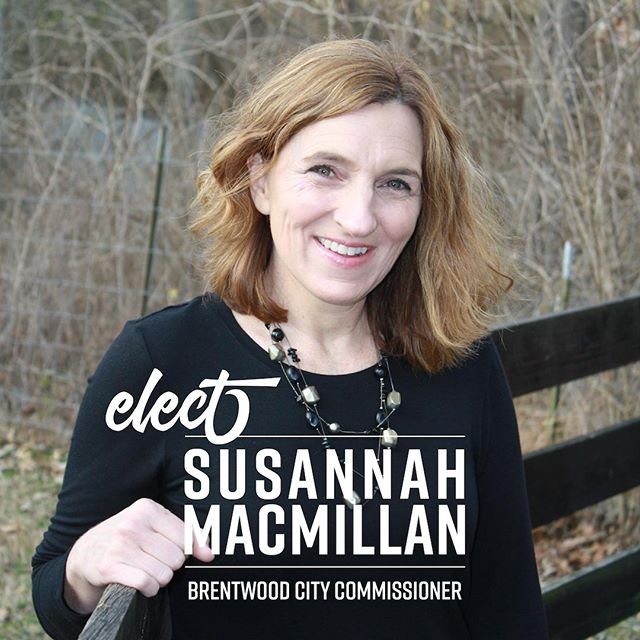 Election Day is Tomorrow, May 7th - you can vote at your assigned polling location 7am-7pm. If you do not know where that is - go to my website and there is a link to help you figure that out. www.susannahmacmillan.com