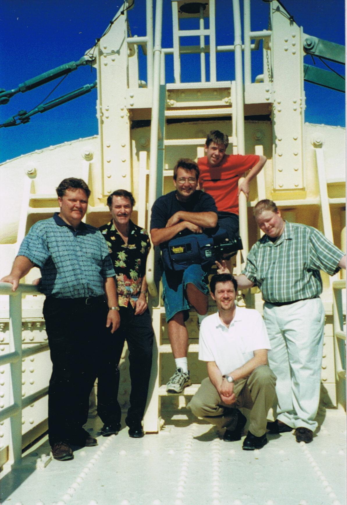 The first music video atop the Mackinac Bridge!