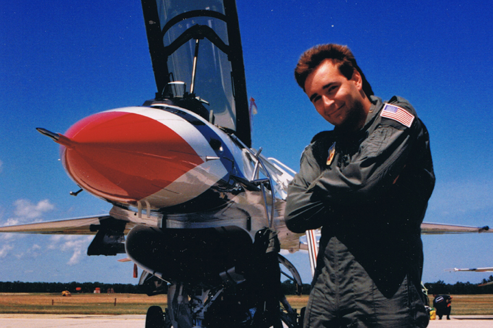 Flying with the Thunderbirds