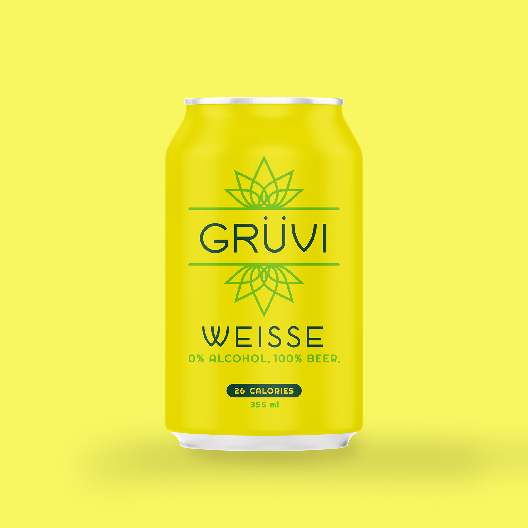 Gruvi Weisse   A truly refreshing citrus beer, carefully brewed with fresh lemon peels that release limonene to help to elevate your mood and energy. Gruvi Weisse is aromatic, light and drinkable. It will truly awaken your taste buds with its lemony start and wheaty finish