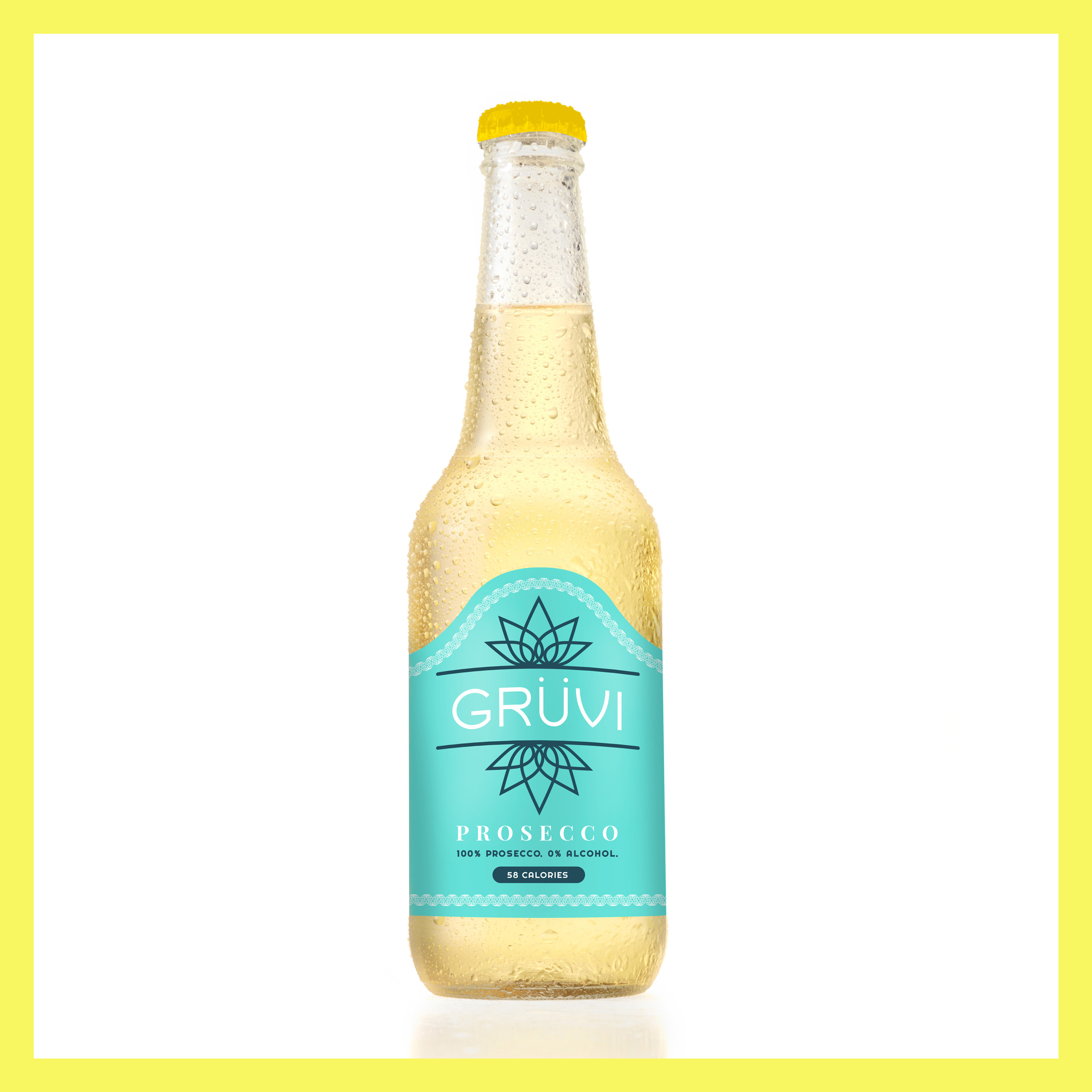 Gruvi Prosecco   A floral and bubbly Prosecco, perfectly carbonated and lively to drink. Let the terpene Linalool help reduce your stress and anxiety.   .