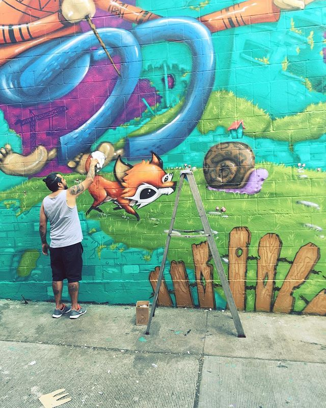 #seattle ##seattlecapitolhill #mural #happening