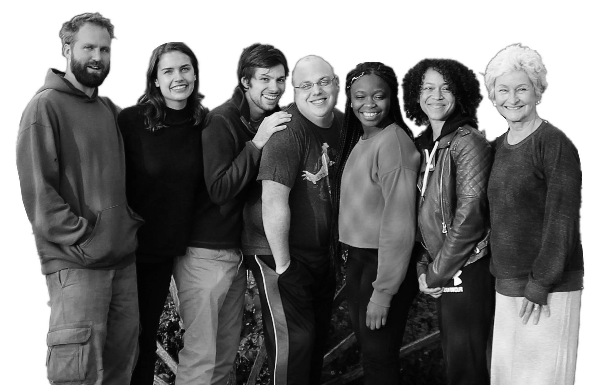 Cast : Travis Knapp, Natasha Bratkovski, Benno Ressa, Mike Cyr, Nicole Bethany Onwuka, Sylvie Yntema, Kristin Sad