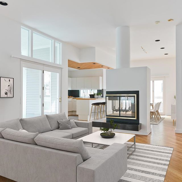 Virtual living at its finest! There are options to getting your home ready for the market including the cost efficient virtual staging like we did here at 46D Trowbridge. Visit 46DTrowbridge.com for more images!