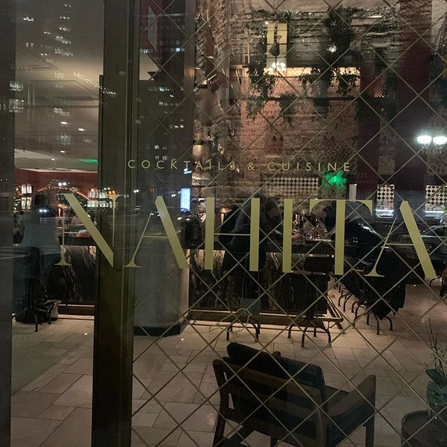 Fantastic dinner at Nahita. Beautiful ambiance with delicious food  and wine.