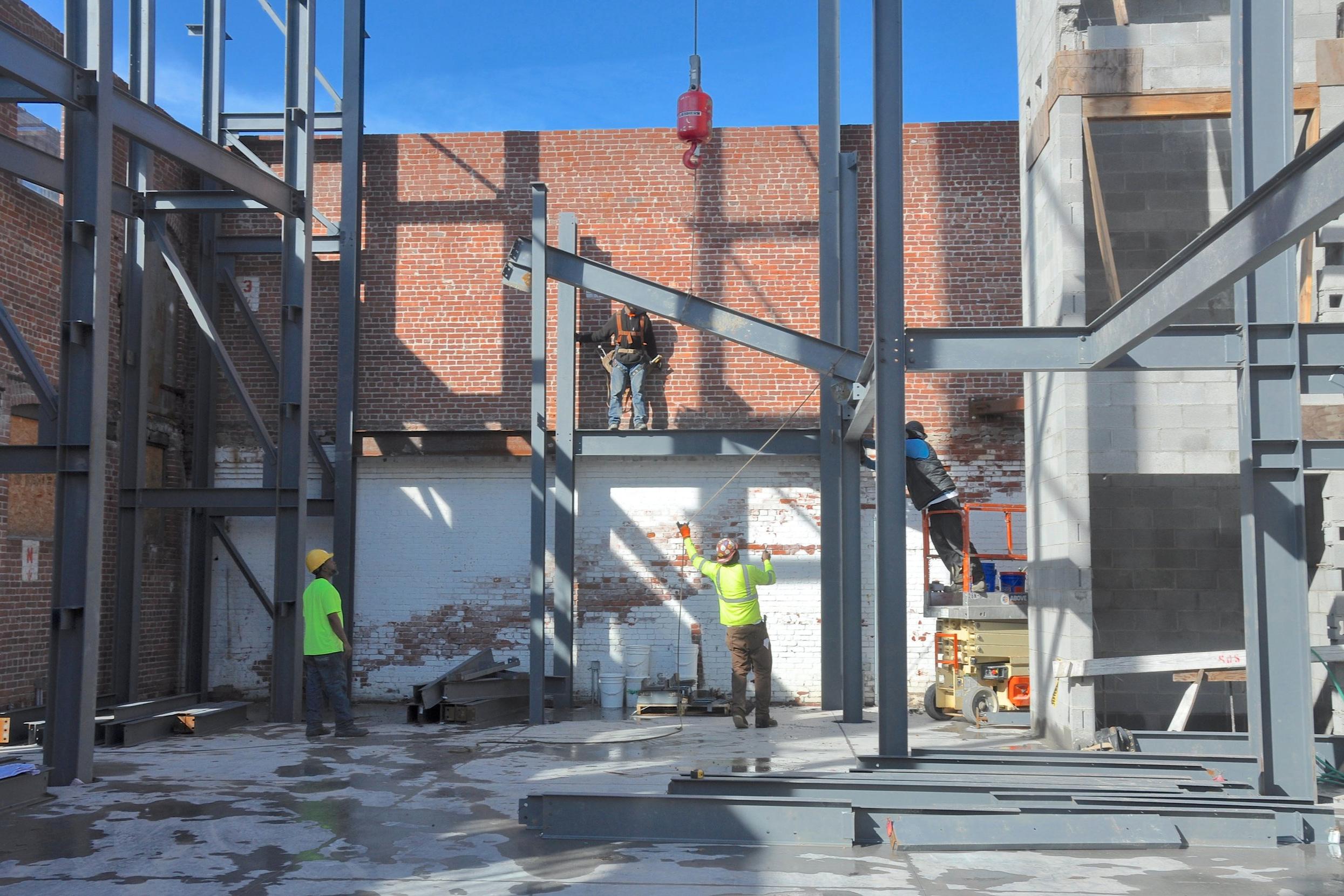 north wall, setting beam.JPG