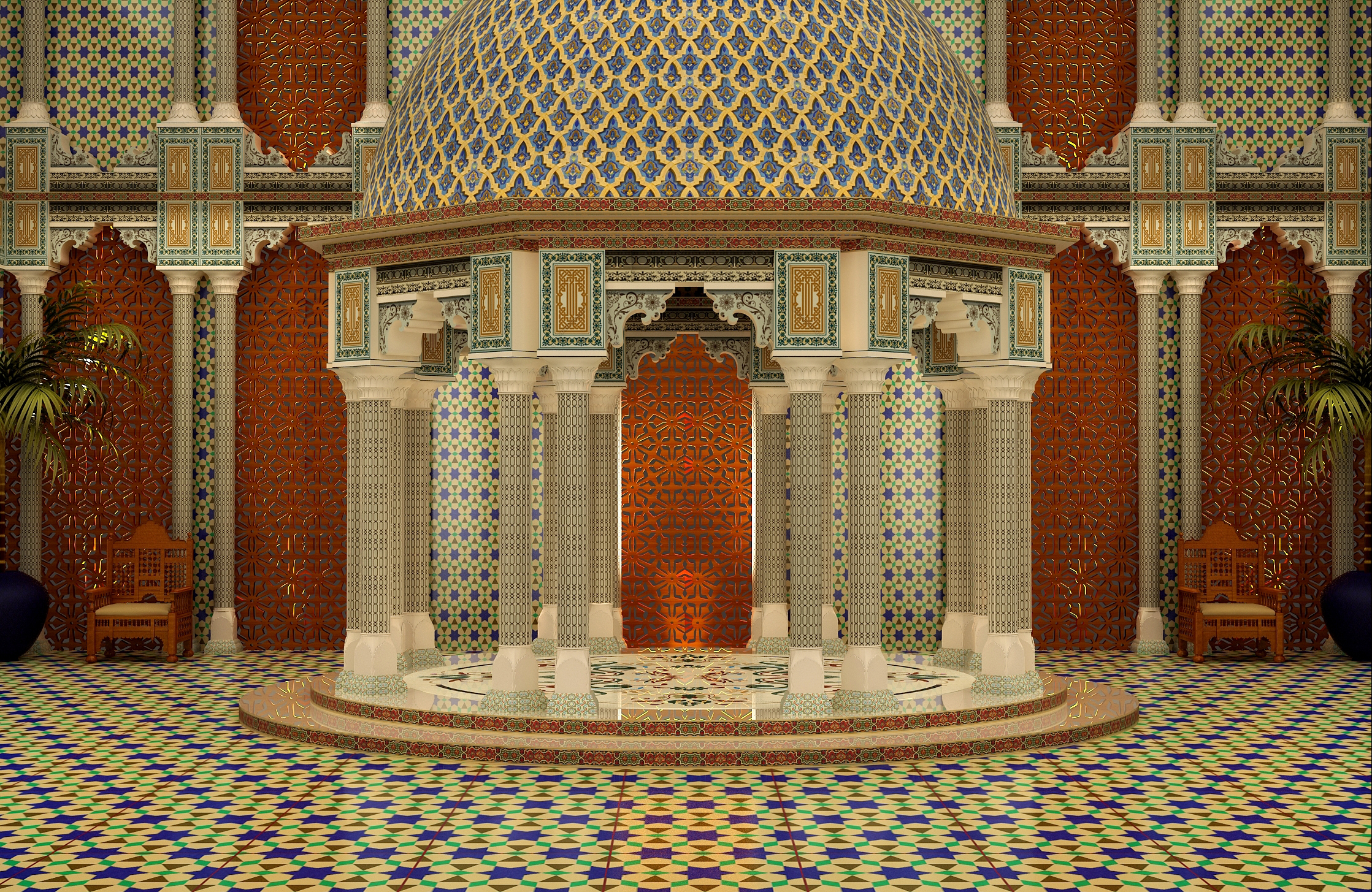 Palace, Morocco