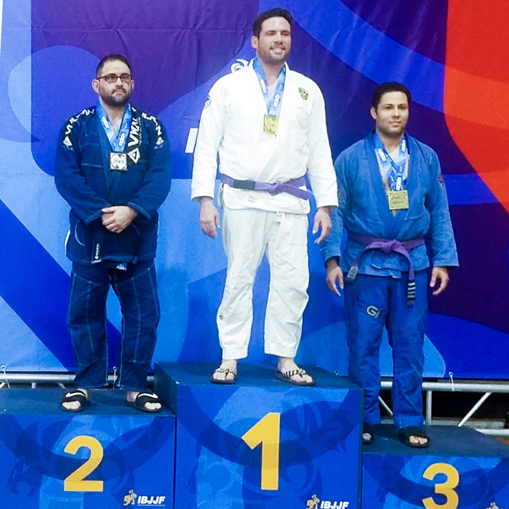 Rick Lipa placed second in the Master Two Male Purple Ultra-Heavy division.