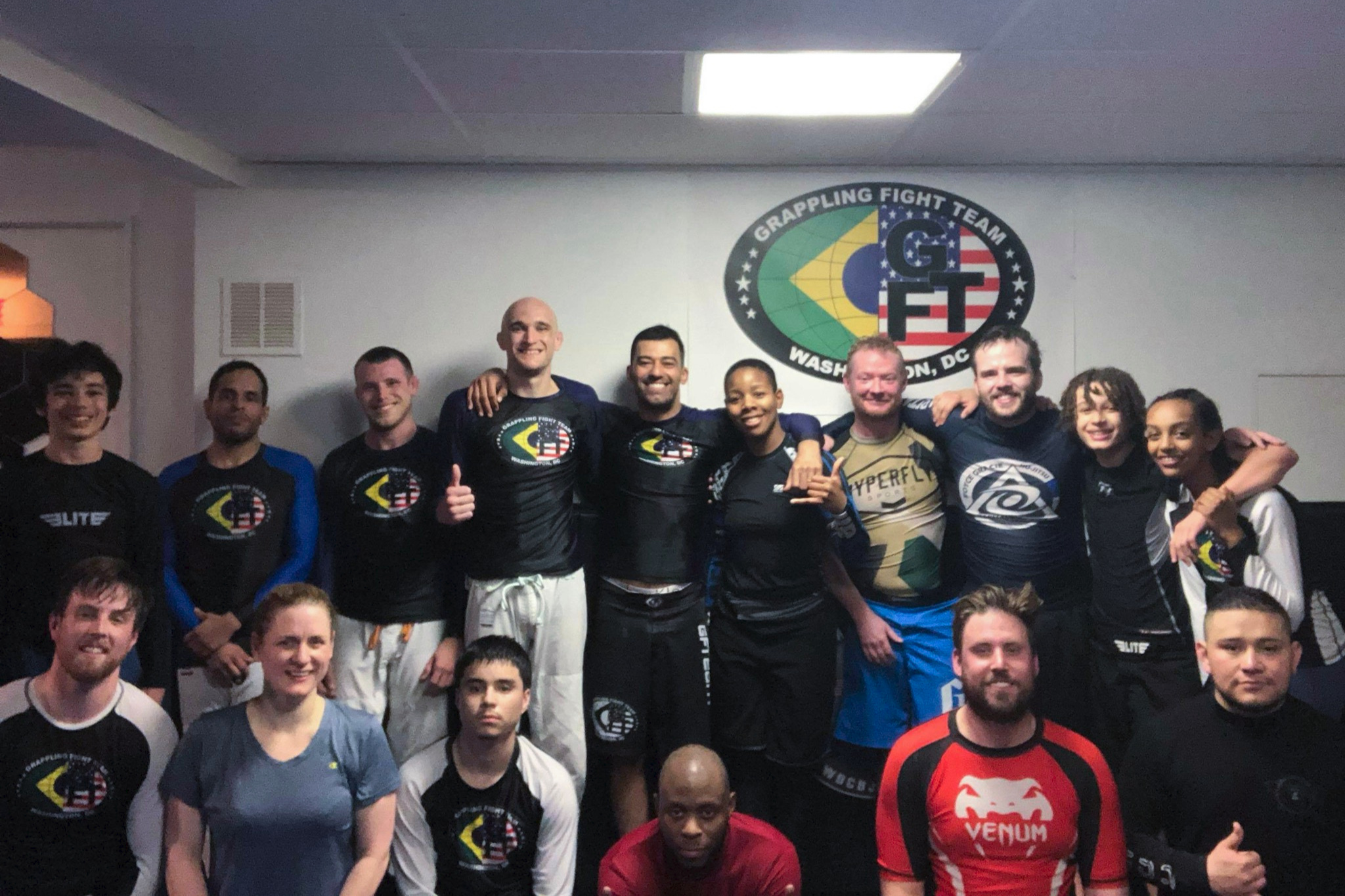 We are grateful for the hospitality shown to us by Instructor Deivid Dias and his students at WDC BJJ.