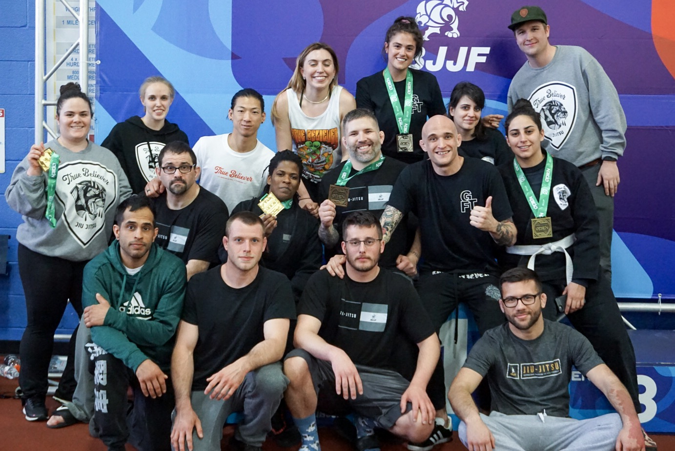 The tribe made the journey to compete at the IBJJF Washington D.C. Spring International Open, earning six total medals.