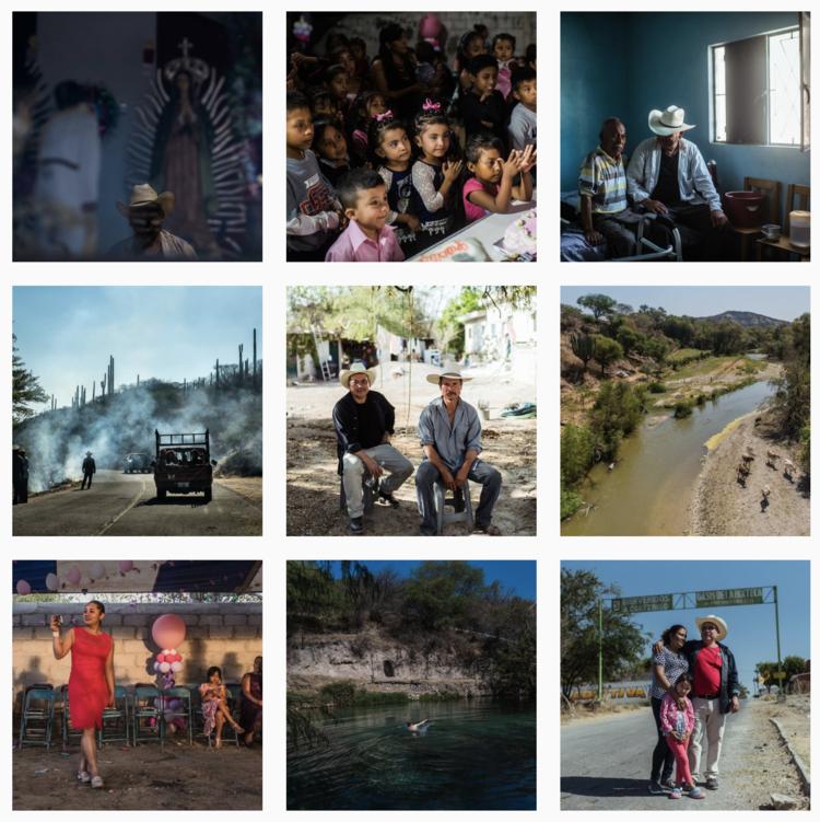 Photos from Ryan Christopher Jones' Behind the Lens Series.